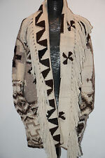 POLO Ralph Lauren Wool-Cashmere Hand Knit SOUTHWESTERN NAVAJO Cardigan L-XL $798