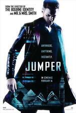 JUMPER Movie POSTER 27x40 UK Hayden Christensen Samuel L. Jackson Diane Lane