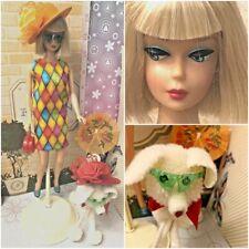 Vintage Poodle & Repro American Girl Barbie Both OOAK Custom Dressed Clone HM