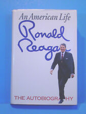 Autobiography Signed By Ronald Reagan, Hardcover w/Jack, First Print Edition!!!