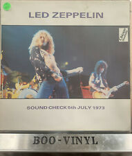 Led Zeppelin - Sound Check 5th July 1973 Working It Up Rare Vinyl Record