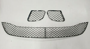Genuine Bentley Continental GT/GTC 08-11 Dark Chrome Lower Grilles Set (No ACC)