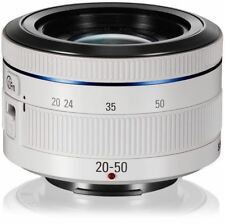 Samsung NX 20-50mm f/3.5-5.6 II ED i-Function Lens (White) NEW -White Box