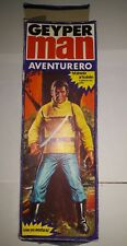 GEYPERMAN adventurero doll 1975 véritable Figure faite en Espagne, action man vintage