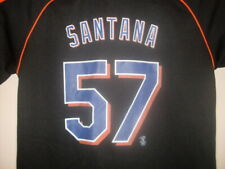 New York Mets Johan Santana Jersey Nike Youth Large