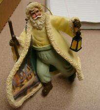 """Thomas Kinkade""~ Old World Santa Ornament~""The Glow Of The Season"""
