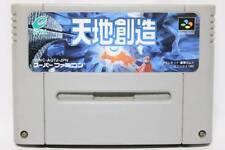 Nintendo Super Famicom Terranigma Tenchi Souzou Japan SFC SNES