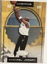 Michael Jordan 2001-02 Fleer NBA Hoops Hot Prospects # 17 Washington Wizards 🔥