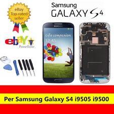 BLU Samsung Galaxy S4 i9505 500 Display LCD Telaio Touch screen Schermo frame IT
