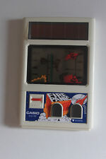 LCD FIRE PANIC Casio CG-20 Game Watch Handheld Tested / Solar power vintage