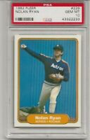 1982 FLEER #229 NOLAN RYAN, PSA 10 GEM MINT, HOF, HOUSTON ASTROS L@@K !
