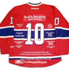 Guy Lafleur Career Jersey - Autographed - LTD ED 299 - Montreal Canadiens