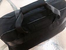 Burberry Black Rolling Wheeled Duffle Bag Weekend Travel Sport Gym Bag