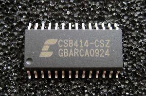 CS8414 Cirrus Logic (Crystal) Digitalreceiver CS8414-CSZ Soic