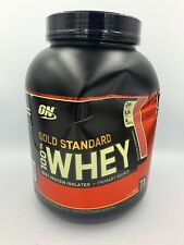 OPTIMUM NUTRITION ON GOLD STANDARD 100% WHEY DELICIOUS STRAWBERRY 5 LB