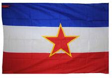 Jugoslawien Fahne Flagge 95x135 Flag Serbien Kroatien #589