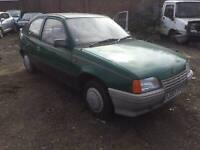 vauxhall astra mk2 gt 1.2 petrol 1986 spares and repairs classic