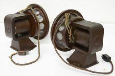 30s vintage Field Coil 9'' Speaker PAIR Jensen Klangfilm Western Electric era