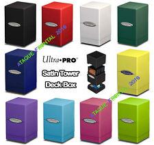 SATIN TOWER ULTRA PRO DECK BOX - CARTAS MAGIC, YUGIOH, POKEMON - ELIGE TU COLOR