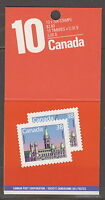 CANADA #BK101b 38¢ Parliament, Lunch Savers Complete Booklet MNH