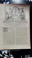 1922 60.61 Breslau Bebauungsplan Teil 4 und 5