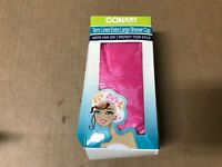 CONAIR - Styling Essentials Shower Cap Lined Terry Cloth Hot Pink 1 Cap XL