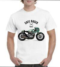 Tee-shirt  100% coton Moto custom café racer 2020