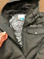 Columbia MENS Tinline Thermal Coil Insulated Hooded Jacket XL X Large Omni Heat