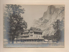 1900 Photo of the Stoneman House Hotel in Yosemite Valley CA