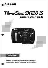 Canon Powershot SX120 IS Digital Camera User Instruction Guide  Manual