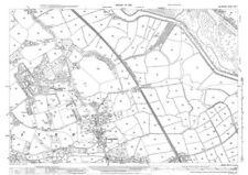 Contemporary Antique Europe County Maps