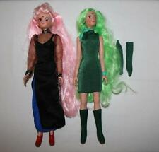 """Sailor Moon 11"""" doll lot~Emerald and Wicked (Black) Lady"""