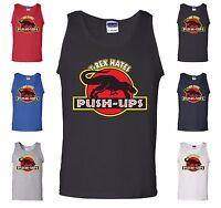T-Rex Hates Push-Ups Tank Top Funny T Rex Dinosaur Gym Workout Muscle Shirt Gift
