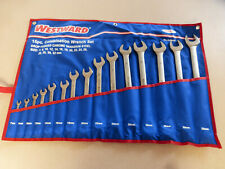 COMBINATION WRENCH SET METRIC 15-PIECE 12 POINT WESTWARD **NEW UNOPENED** 4JMA8