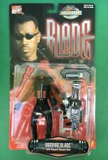 "1997 Marvel Comics WESLEY SNIPES as BLADE Figure 6"" w/Assault Gear Toy Biz"