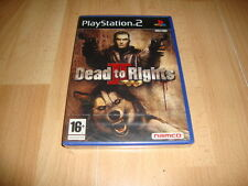 DEAD TO RIGHTS II DE NAMCO PARA LA SONY PS2 NUEVO PRECINTADO