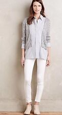 NWT MiH BODYCON High Rise Skinny Jeans Size 28 White