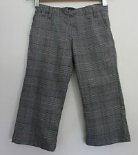 OOBI  ~ Girls Black White Prince of Wales Check Winter Dressy Pants ~  4