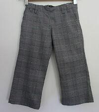 OOBI  ~ Girls Black White Prince of Wales Check Winter Dressy Pants ~  4