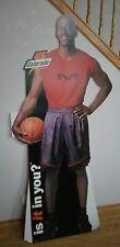 1999 GATORADE Michael Jordan Chicago Bulls Life Size Cardboard Stand Up
