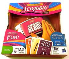 Scrabble Turbo Slam Hasbro Electronic Game Ages 8+ New for 2-4 Players Sounds
