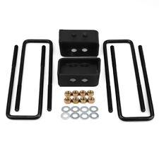 "3"" Rear Leveling Lift Kit For 2007-2019 Toyota Tundra Crmo iron Black iron"