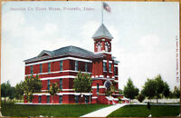 1910 Postcard: Bannock County Courthouse - Pocatello, Idaho ID