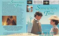 SOMEWHERE IN TIME CHRISTOPHER REEVE JANE SEYMOUR VHS PAL VIDEO~A RARE FIND