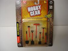 Traffic Cones 17025 - Hobby Gear - 1/24 & G Scale -  by PHOENIX TOYS