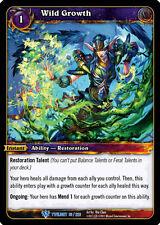 Wow Warcraft Tcg Twilight Dragons : Wild Growth X 4
