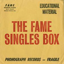 "V/A - The Fame Singles Box 5x7"" BOX SET LIMITED ED SOUL MUSCLE SHOALS RSD NEW"