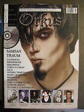 ORKUS 2004 # 12/1 - SAMSAS TRAUM LACRIMOSA PERSEPHONE CORVUS CORAX BEHEMOTH FAUN