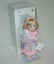 Marie Osmond  Miracle Children Series 1994 Traci Porcelain Doll Sign Certificate