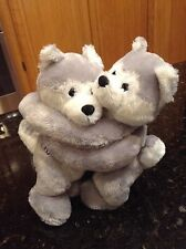 Wishpets Husky Hugger XOXO Puppy Dog Plush Stuffed Animal